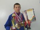 Призер турниров по рукопашному бою и боксу