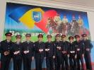 Вручение удостоверений казачьей молодежной организации Донцы